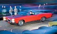 0607 Pl 1967 Pontiac Gto Convertible Front Left