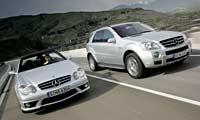 0607 Pl 2007 Mercedes Benz Ml63 Amg Front
