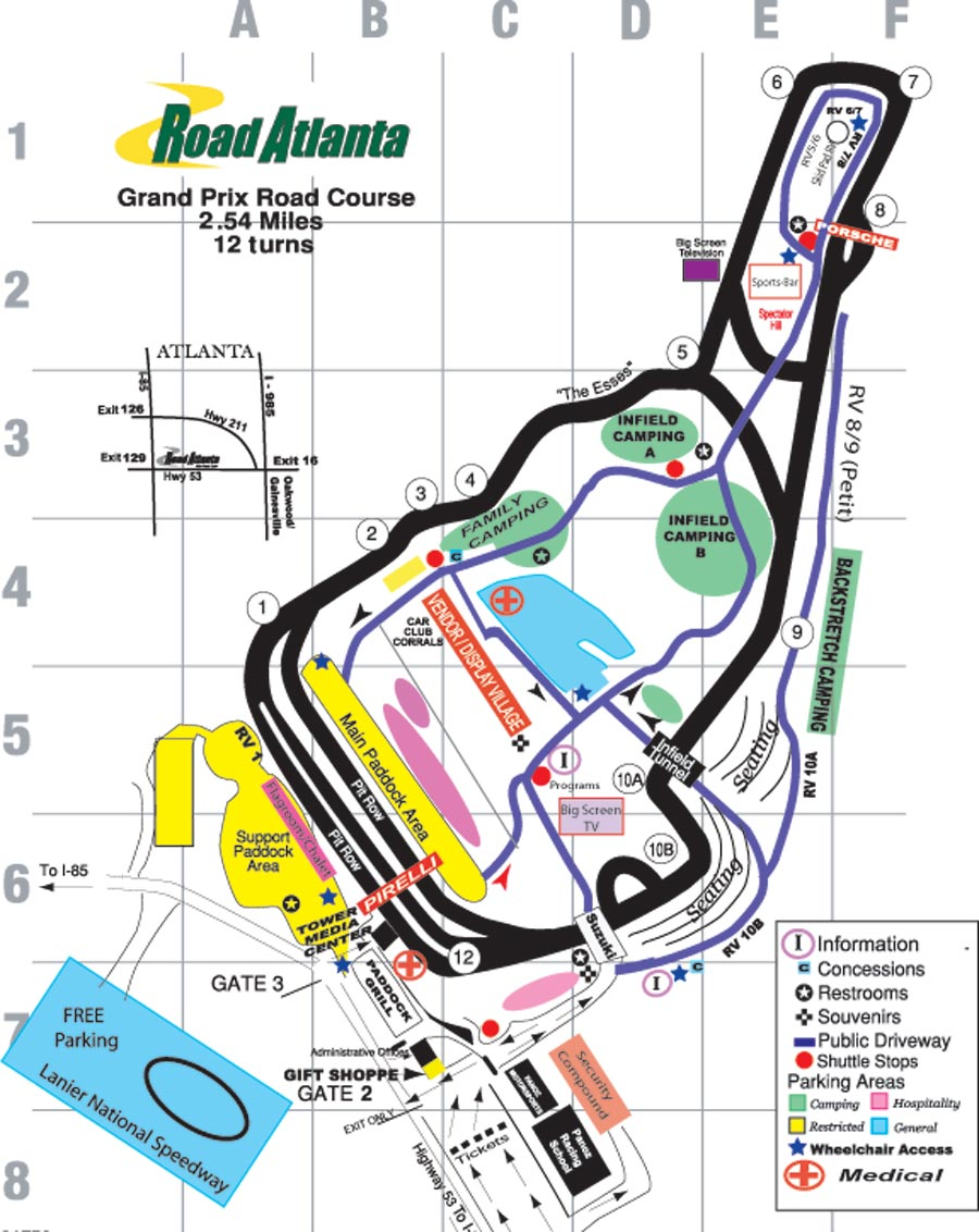 The offending track: Road Atlanta