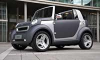 0607 Pl 2005 Smart Crosstown Concept Front Corner