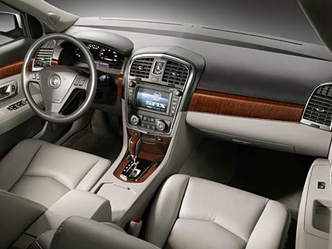 New 2007 Cadillac SRX interior