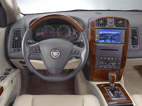 Old 2006 Cadillac SRX interior