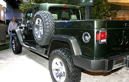 Jeep Wrangler Pickup Truck >> 2008 Jeep Gladiator Concept - 2008 & 2009 Future Cars ...
