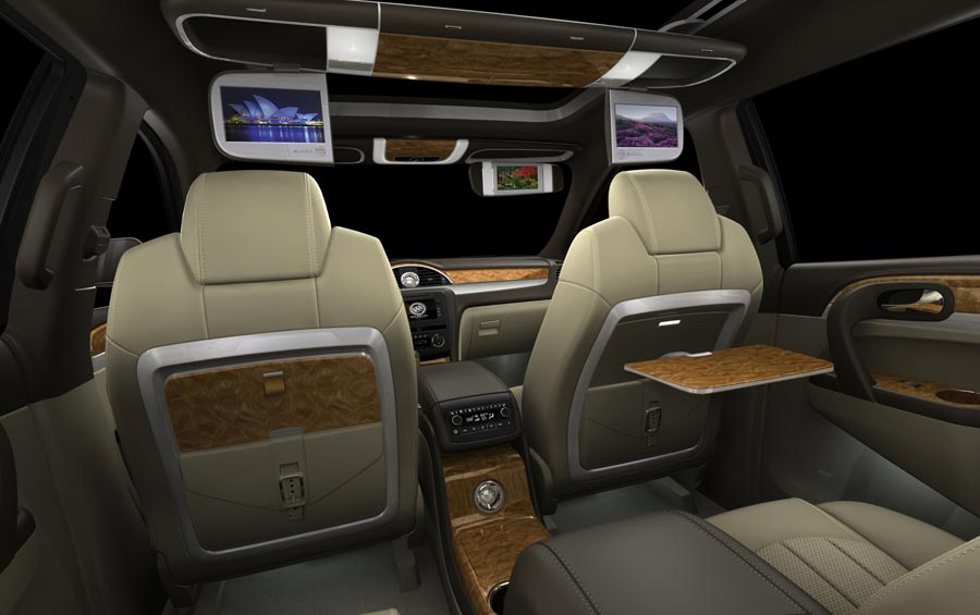 Naias Buick Enclave Rear Interior View