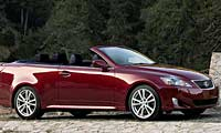 0609 Pl 2009 Lexus Is Convertible