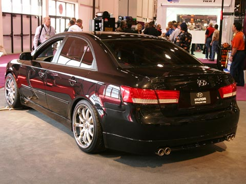 2007 Hyundai Sonata Street Concepts 2006 Sema