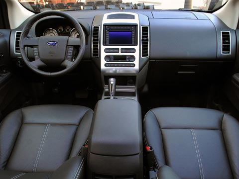 driven preview: 2007 ford edge - new car, truck, and suv road tests