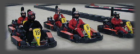Automobile Goes Karting