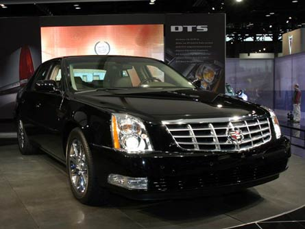2007 Cadillac DTS (regular length)