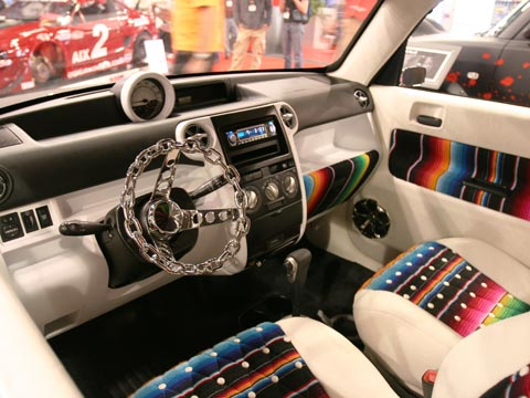 scion xb custom interior. jason cammisa scion xb custom interior s