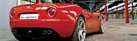 0612 Pl 2008 Alfa Romeo 8c Spider Rear