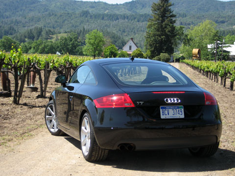 2008 audi tt coupe and roadster is it a sports car. Black Bedroom Furniture Sets. Home Design Ideas