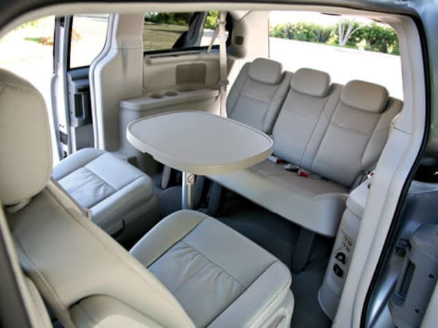 Photo 2 5 0710 02 Z 2008 Chrysler Town And Country Interior View