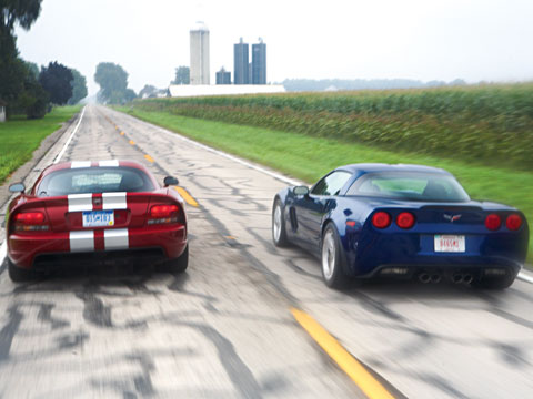 0711 02 Z Lingenfelter Corvette Z06 Vs Dodge Viper Srt10 Head To Head
