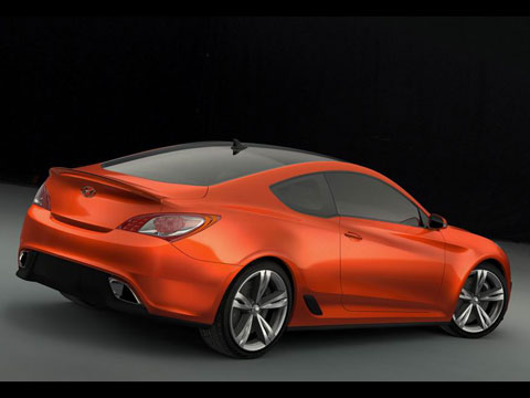 2007 Hyundai Genesis Coupe Concept Latest News Features