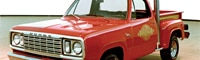 0712_01_pl 1979_dodge_lil_red_express_truck Front_three_quarter_view