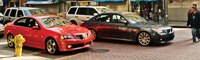 0804 01 Pl 2008 Pontiac G8 GT And 2008 BMW 550i