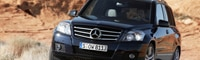 0804 13 Pl 2010 Mercedes Benz GLK350 Front Three Quarter View