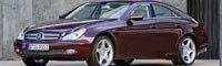 0805 01pl 2009 Mercedes Benz CLS Front Three Quarter View