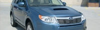 0805 01 Pl 2009 Subaru Forester XT Front Three Quarter View