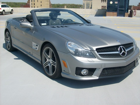 2009 Mercedes Benz Sl63 Amg Mercedes Benz Convertible Sports Car Review Automobile Magazine