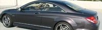 0806 01 Pl 2008 Mercedes Benz CL63 AMG Rear Three Quarter View