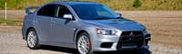 0806 01 Pl 2008 Mitsubishi Lancer Evolution GSR Front Three Quarter View