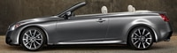 0806 36 Pl 2009 Infiniti G37 Convertible Front Three Quarter View
