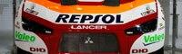 0810_03pl 2009_mitsubishi_racing_lancer_MRX09 _front_view