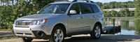 0808 01 Pl 2009 Subaru Forester 2 5X Front Three Quarter View