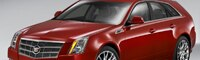 0808 01 Pl 2010 Cadillac CTS Sport Wagon Front Three Quarter View