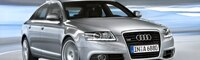 0808 03 Pl 2009 Audi A6 Sedan Front Three Quarter View