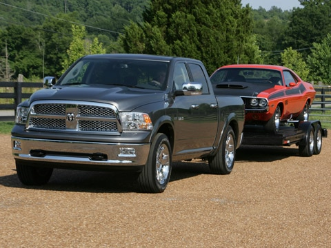 2009 dodge ram 1500 first drive review automobile magazine. Black Bedroom Furniture Sets. Home Design Ideas