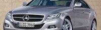 0809 01 Pl 2010 Mercedes Benz CLS Front Three Quarter View