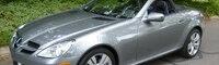 0809 02 Pl 2009 Mercedes Benz SLK350 Front Three Quarter View