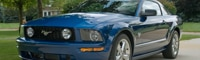 0809 03 Pl 2009 Ford Mustang GT Coupe Premium Front Three Quarter View
