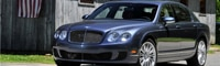 0809 04 Pl 2009 Bentley Continental Flying Spur Speed Front Three Quarter View