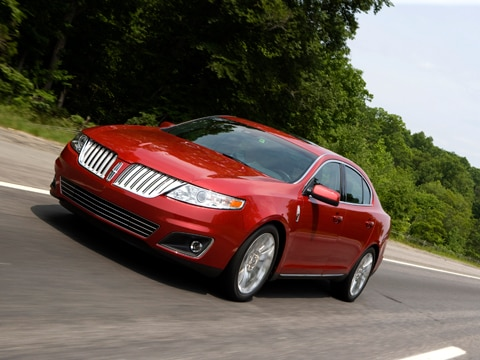 2009 lincoln mks awd lincoln fullsize sedan review. Black Bedroom Furniture Sets. Home Design Ideas