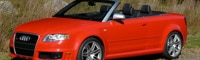 0810 06 Pl 2008 Audi RS4 Cabriolet Front Three Quarter View