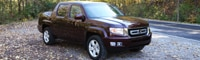 0810 17 Pl 2009 Honda Ridgeline RTL Front Three Quarter View