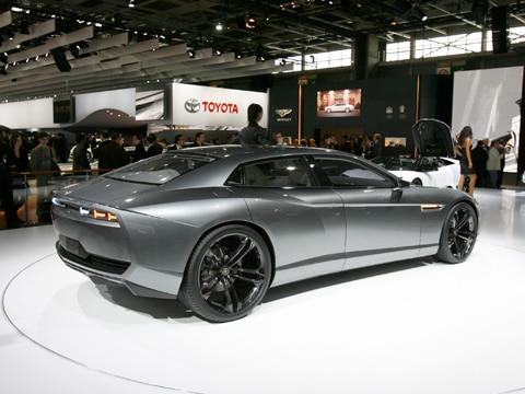 2008 Lamborghini Estoque Concept  2008 Paris Motor Show Coverage