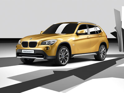 paris premiere for bmw x1 concept. Black Bedroom Furniture Sets. Home Design Ideas