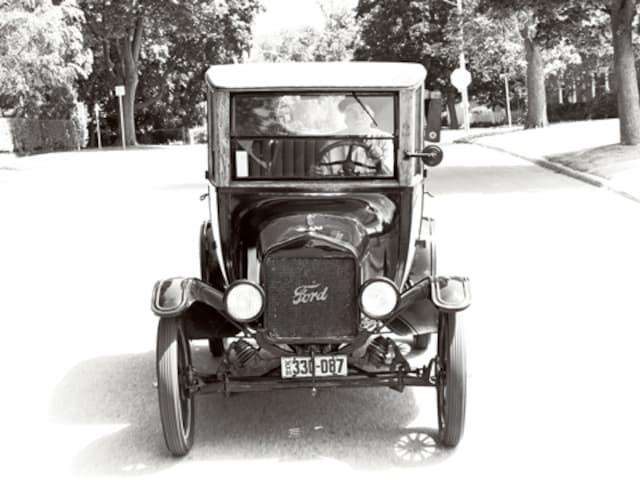 Ford Model T Vintage Ford Car Automobile Magazine