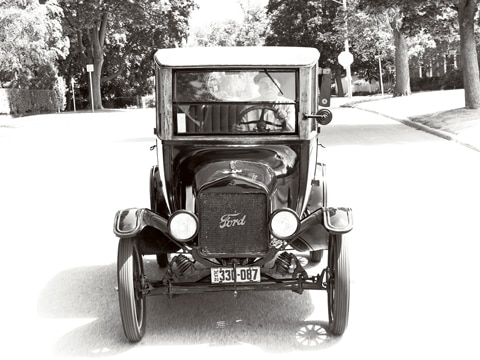 To rectify that lapse and to toast the T on its one-hundredth birthday we arranged a test drive in an unrestored 1920 Centerdoor sedan owned for ...  sc 1 st  Automobile Magazine & 1920 Ford Model T - Vintage Ford Car - Automobile Magazine markmcfarlin.com