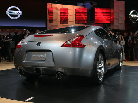 2009 nissan 370z 2008 la auto show coverage new car. Black Bedroom Furniture Sets. Home Design Ideas