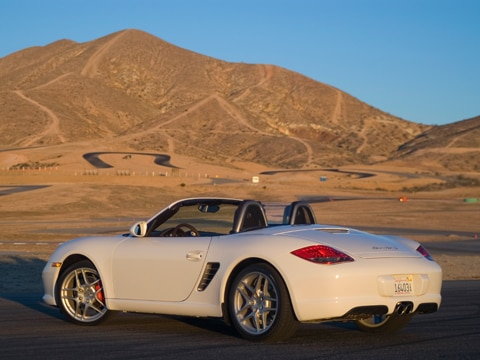 2009 porsche boxster first drive automobile magazine. Black Bedroom Furniture Sets. Home Design Ideas