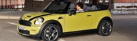 0812 01pl 2009 Mini Cooper S Convertible Front Three Quarters View