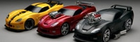 0901 01 Pl Chevrolet Corvette Toy Models By Ridemakerz