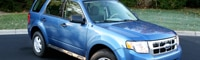 0812 08 Pl 2009 Ford Escape XLS FWD Front Three Quarter View