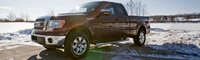 0902 01 Pl 2009 Ford F 150 Lariat Front Three Quarter View